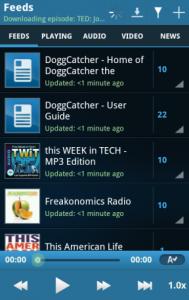 Immagine dell'applicazione DoggCatcher pe Android