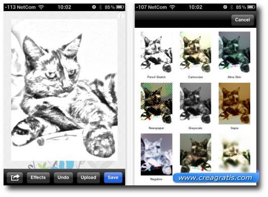 Immagine dell'applicazione PhotoSketch