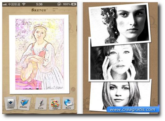 Immagine dell'applicazione Sketch+