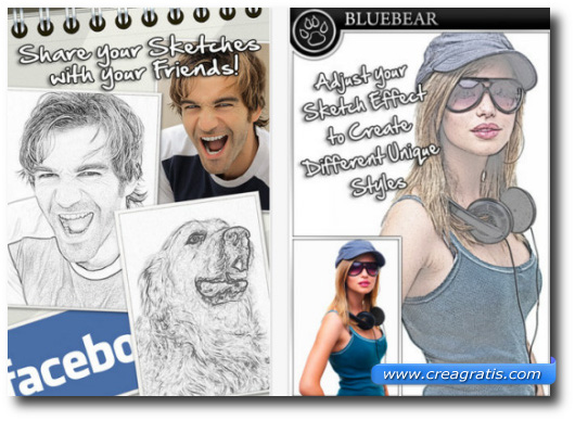 Immagine dell'app Sketch Me!