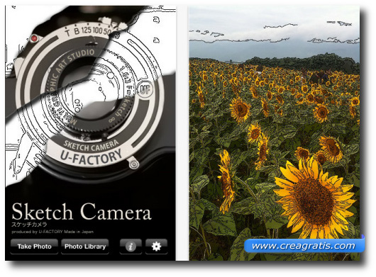 Immagine dell'app Sketch Camera
