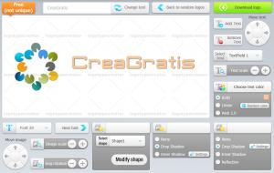 Strumento online per modificare un logo scelto