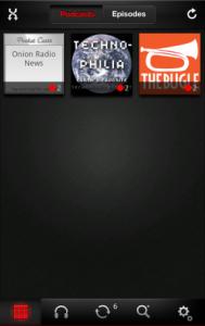 Immagine dell'applicazione PocketCast per Android