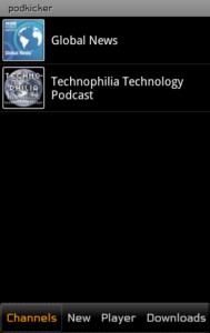 Immagine dell'applicazione Podkicker per Android