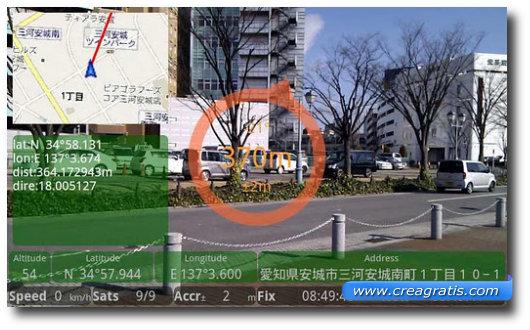 Immagine dell'applicazione GeoGoggle