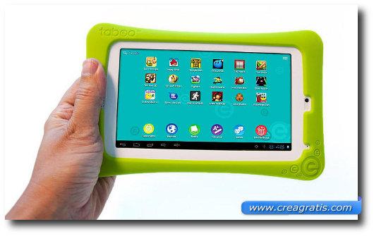 Immagine del tablet Tabeo