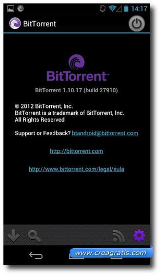 Immagine di BitTorrent per Android