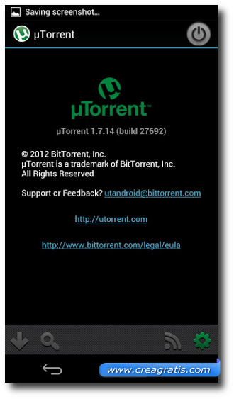 Immagine di uTorrent per Android