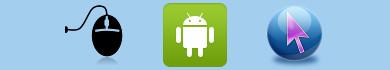 Usare uno smartphone Android come un mouse per PC