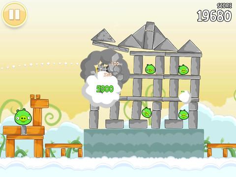 Immagine del gioco Angry Birds HD Free