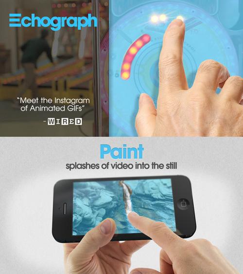 Immagine dell'applicazione Echograph per iPhone