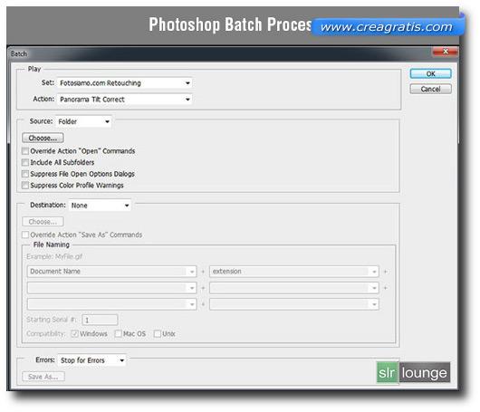 Automatizzare i comandi su Photoshop