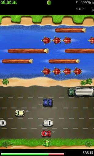Immagine del videogioco da bar Frogger Free