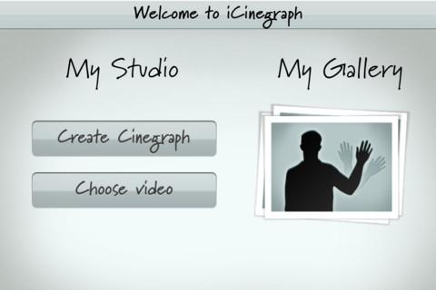 Immagine dell'app iCinegraph per iPhone