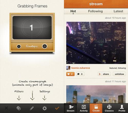 Immagine dell'applicazione Kinotopic per iPhone