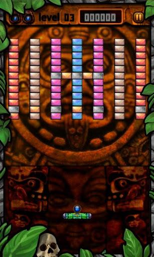 Immagine del videogioco da bar Break Bricks