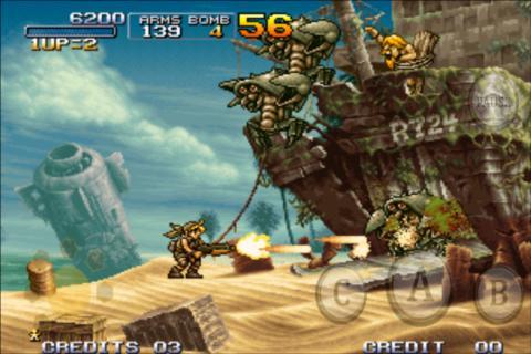 Immagine del videogioco da bar Metal Slug 3