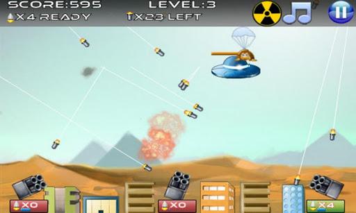 Immagine del videogioco da bar Missile Defense