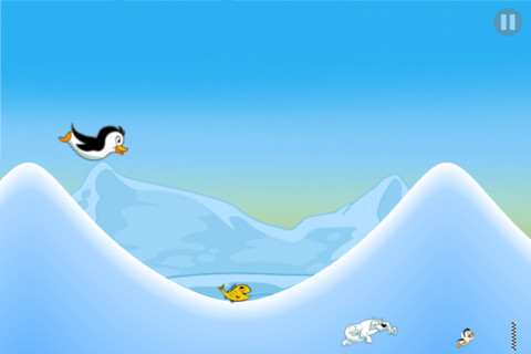 Immagine del gioco Racing Penguin, Flying Free