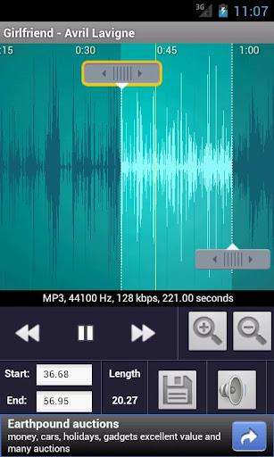 Immagine dello strumento per personalizzare la suoneria