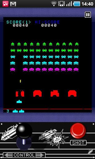 Immagine del videogioco da bar Space Invaders