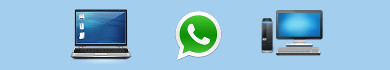 Usare e inviare messaggi con WhatsApp dal computer