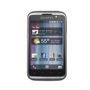 Immagine dello smartphone Alcatel OT 991D