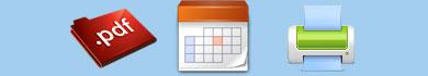 Calendari da tavolo in PDF da stampare