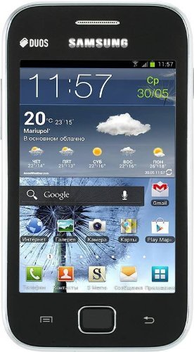 Immagine dello smartphone Samsung Galaxy Ace Duos S6802