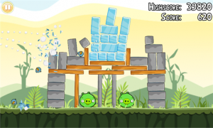 Immagine del gioco Angry Birds per Windows Phone