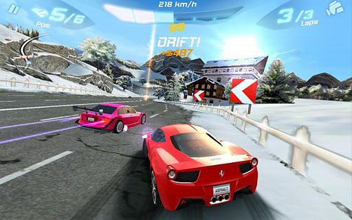 Immagine del gioco Asphalt 6 Adrenaline per Android
