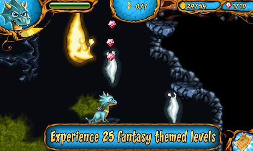 Immagine del gioco Dragon & Dracula: Platformer per Android