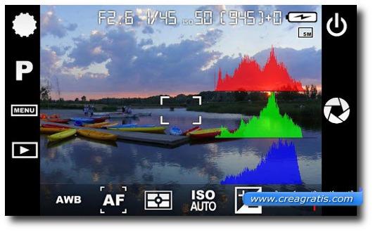 Modifica dei parametri dei colori delle fotografie