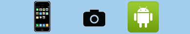 Scattare foto di nascosto con Android e iPhone