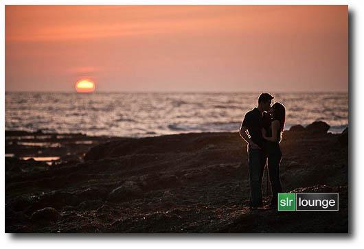 Foto scattata con la modalità Sunset