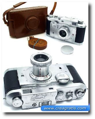 Immagine di alcune macchine fotografiche