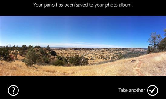 Immagine dell'applicazione Pano