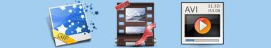 Creare animazioni flash, GIF o AVI
