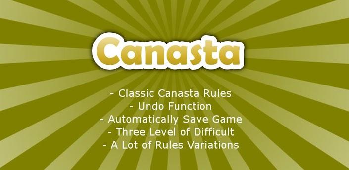 Immagine del gioco di carte Canasta per Android