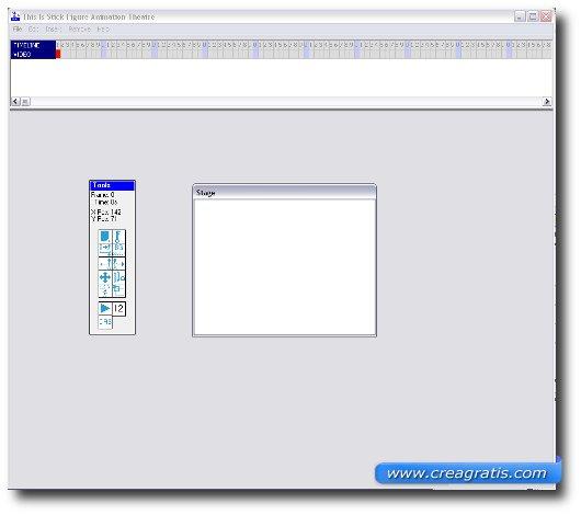 Interfaccia grafica del programma TISFAT