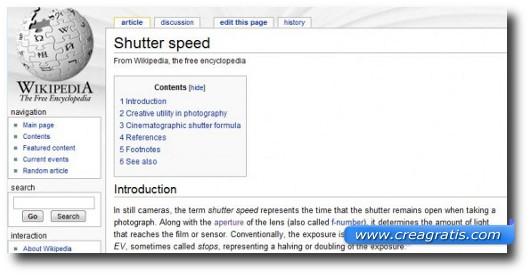 Guida di Wikipedia al Tempo di Esposizione