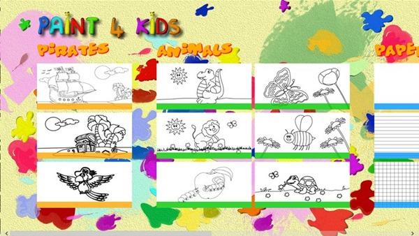 Immagine del gioco Paint 4 Kids