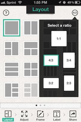 Immagine dell'applicazione Photo Frame per iPhone e iPad