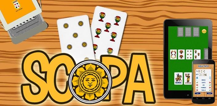 Immagine del gioco di carte Scopa per Android