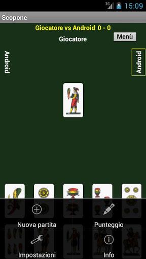 Immagine del gioco di carte Scopone per Android