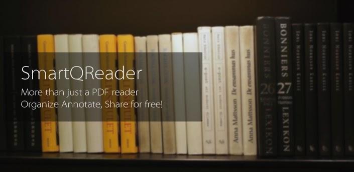 Immagine dell'applicazione SmartQ Reader per Android
