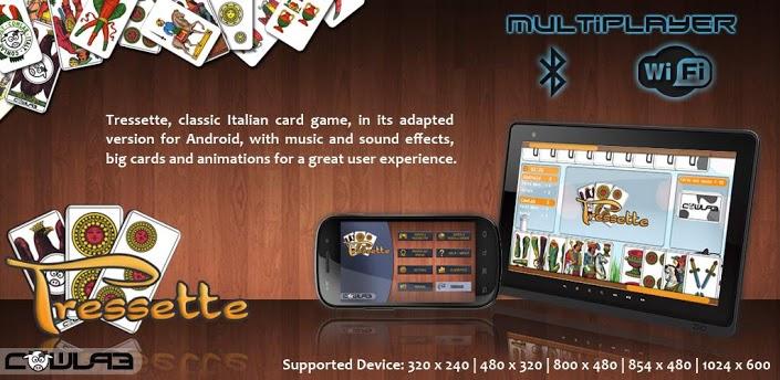 Immagine del gioco di carte Tressette per Android