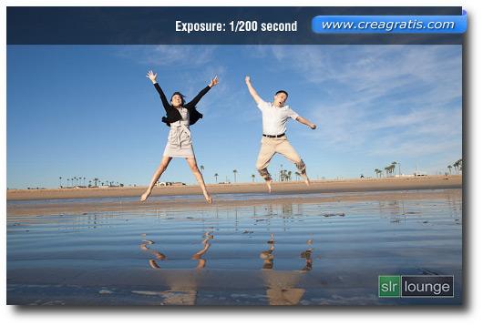 Foto di esempio con tempo di esposizione 1/200 secondi