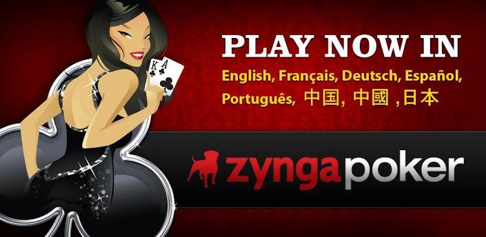 Immagine del gioco di carte Zynga Poker per Android