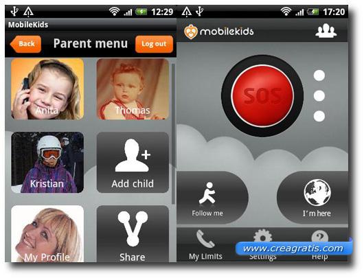 Immagine dell'applicazione MobileKids per Android e iPhone